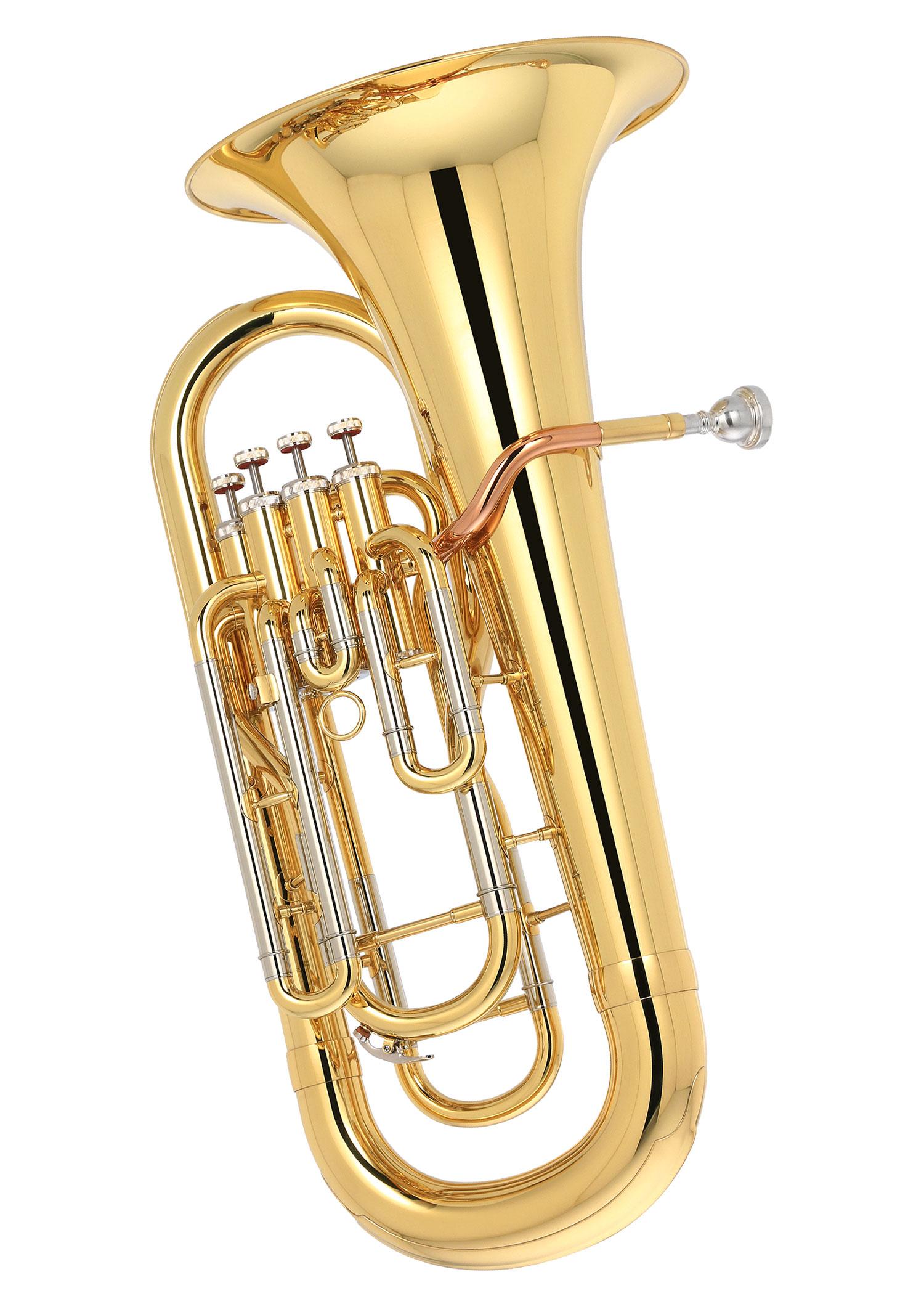 Zeu 3000 4 Valve Euphonium Euphonium Brass Series